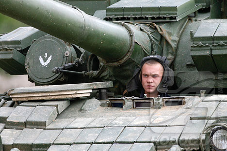 A day in the life of the 4th Guards Kantemirovskaya Tank Division