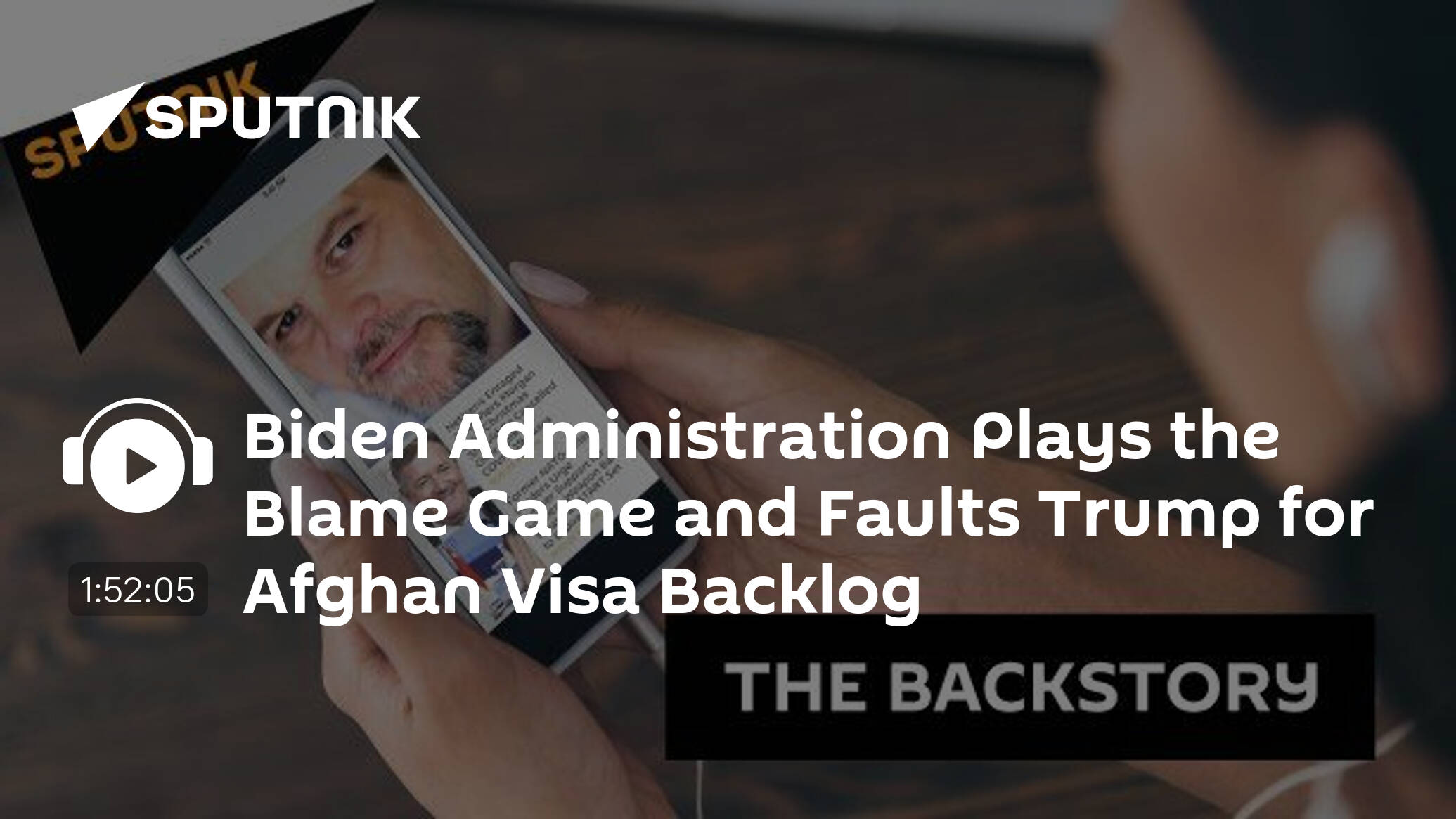 Biden Administration Plays the Blame Game and Faults Trump for Afghan Visa Backlog